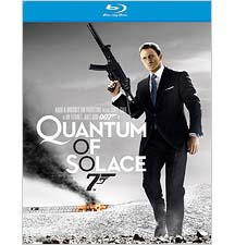 Bond Blu-ray: Quantum of Solace bows March 24