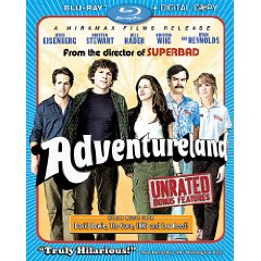Adventureland Blu-ray Disc