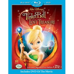 Tinker Bell and the Lost Treasure Blu-ray Disc