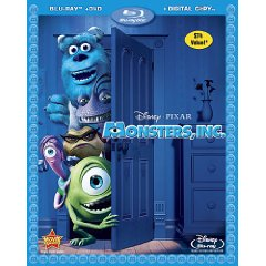 Monsters Inc. Blu-ray Disc