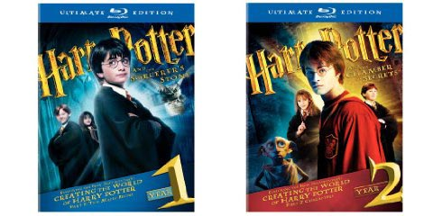 Harry Potter Blu-rays