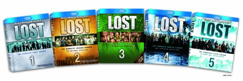 Lost: The Complete Seasons 1-5 Blu-ray