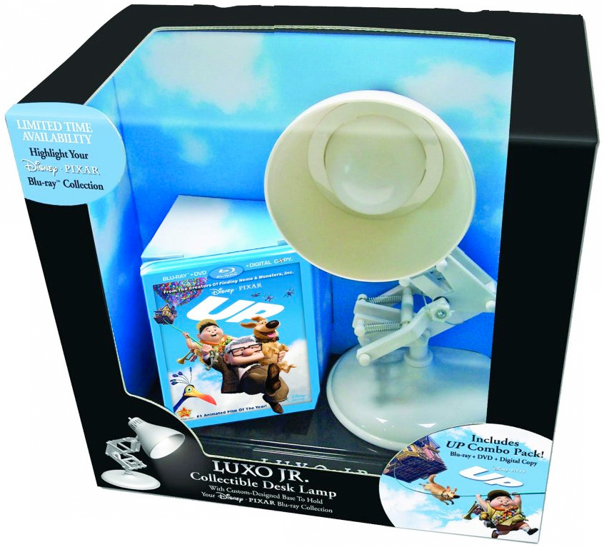 Up Blu-ray Luxo Jr. Gift Set