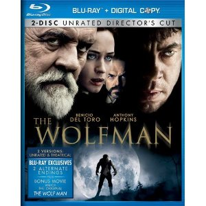 The Wolfman Blu-ray