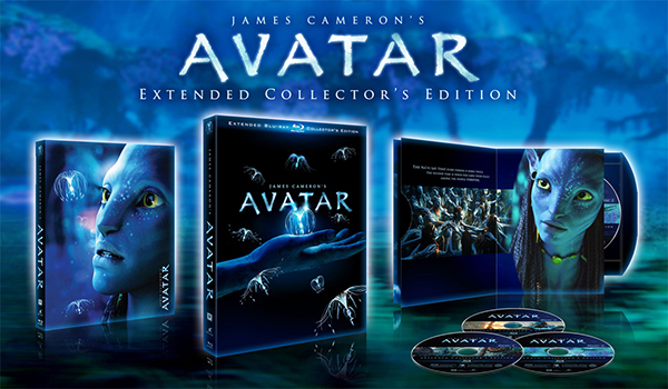 Avatar (Three-Disc Extended Collector's Edition + BD-Live) [Blu-ray] (2009)
