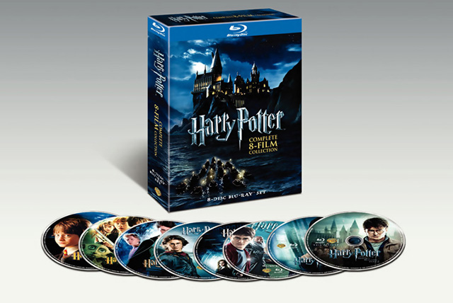 Harry Potter: The Complete Collection Years 1-7 [Blu-ray] (2011)
