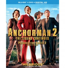 Anchorman 2: The Legend Continues Blu-ray disc review
