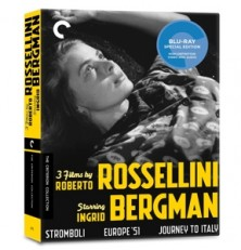 The Criterion Collection: 3 Films By Roberto Rossellini Starring Ingrid Bergman Blu-ray Box Review